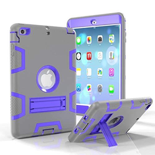 Modieuze beschermhoes voor iPad Mini 3 2 1 beschermhoes gemaakt van siliconen robuust voor kinderen voor iPad Mini 1 2 Mini 3 7,9 inch greyP