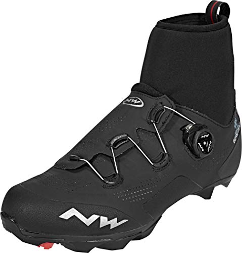 NORTHWAVE Zapatos NW Raptor Artic GTX, Zapatillas Unisex Adulto, Black, 45 EU