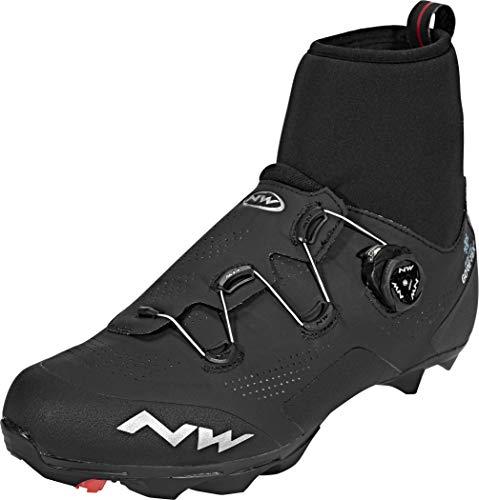 NORTHWAVE Zapatos NW Raptor Artic GTX, Zapatillas Unisex Adulto, Black, 45 EU
