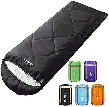 PARKOL 4-Seasons Sleeping Bag for Adults & Kids
