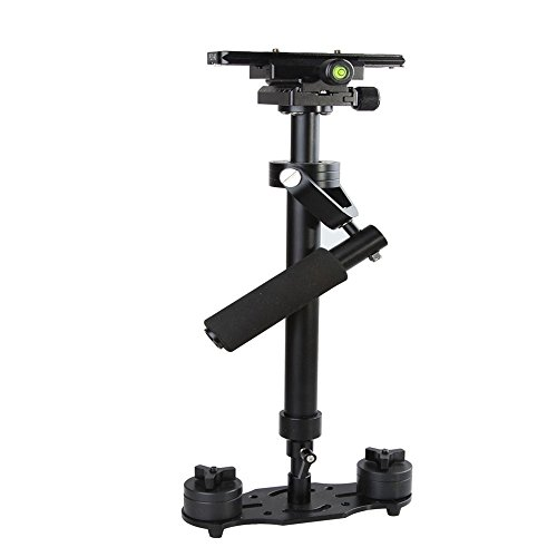 Wen&Cheng S40 Pro Handheld Stabilizer 15.75'/40cm for Camera Video DV DSLR Nikon Canon Sony Panasonic - Max Load 1.5kg/3.31Ib