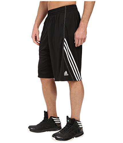 adidas Men's Basics Short 1 Black/White Medium