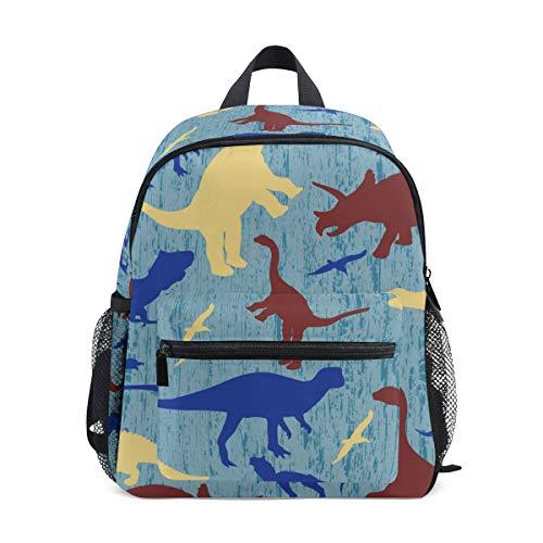 ISAOA Siluetas de Dinosaurio Bolsa para bebé, Desmontable y Antideslizante, Bolsa de Viaje, Bolsa de Aperitivos para niños pequeños y niñas