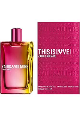 ZADIG&VOLTAIRE Unisex-Erwachsene This is Love Elle EAU DE Parfum 100ML VAPORIZADOR ZADIG, Neger, Estándar