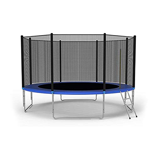 LONABR 12-Foot Trampoline Combo Bounce Jump Trampoline with...