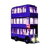 Grupo Bus de iluminación, Sistema de la luz de (Harry Potter Knight Bus) Modelos de construcción del Kit, Kit de iluminación Juego de Luces LED Compatible con Lego 75957 (SÓLO Sistema de la luz)