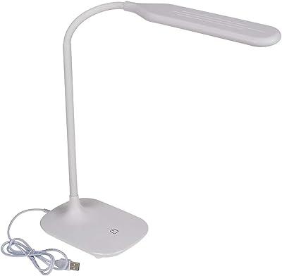 ootb 57/3037 - Lámpara de Escritorio (plástico, 40 cm), Color Blanco