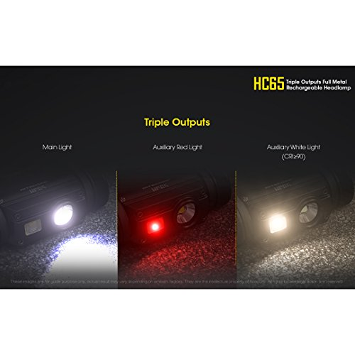 Nitecore HC65 Headlamp - Black