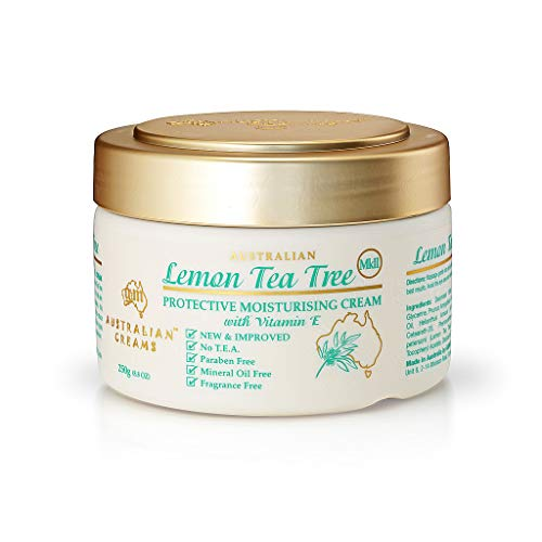 Lemon Tea Tree Cream W Vitamin E Is a Multi-functional Australian Essential Oil. - 250 GM by G&M
