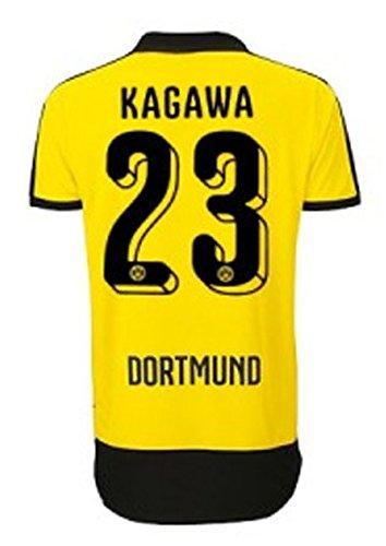 Puma BVB Borussia Dortmund Trikot Home Kinder 2015/2016 - Kagawa 23, Größe:176