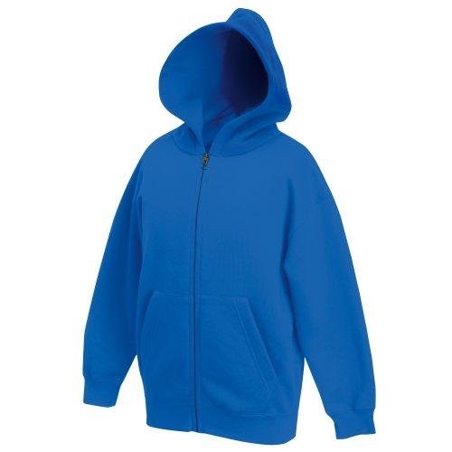 Classic Hooded Sweatjacke Kids - Farbe: Royal - Größe: 152 (12-13)