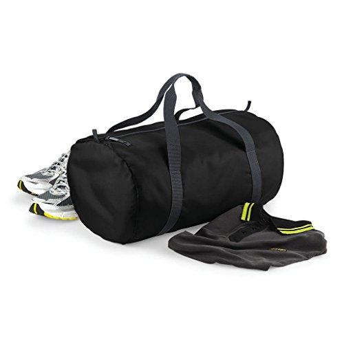 BagBase: Packaway Barrel Bag BG150 One Size,Black
