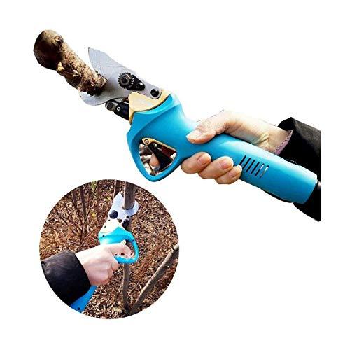 SOAR Élagueur de jardin électrique 30 mm électrique Sécateur, 36V4AH sans fil Sécateur Ciseaux de charge électrique de coupe Outil de jardin d'arbres fruitiers peut couper Diamètre Taille d'ouverture