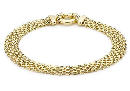 Carissima Gold Bracciale da Donna, Oro Giallo 9K (375)