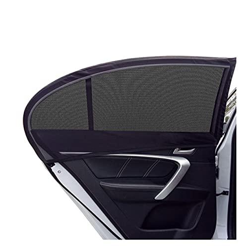 LYUNIT Auto Sonnenschutz Baby, Sonnenschutz Auto mit Zertifiziertem UV Schutz, Sonnenschutzrollo Auto für Seitenfenster Meshmaterial Schützt Mitfahrer, Baby, Kinder & Haustiere, 2...