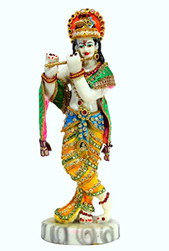eSplanade Lord Krishna Kishan Gopal Gott Murti Idol Statue Skulptur (27,9 cm)