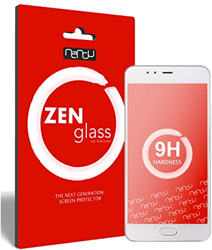 ZenGlass (2 Stück Flexible Glas-Folie kompatibel mit Meizu M5s Panzerfolie I Bildschirm-Schutzfolie 9H I (Kleiner Als Das Gewölbte Bildschirm)