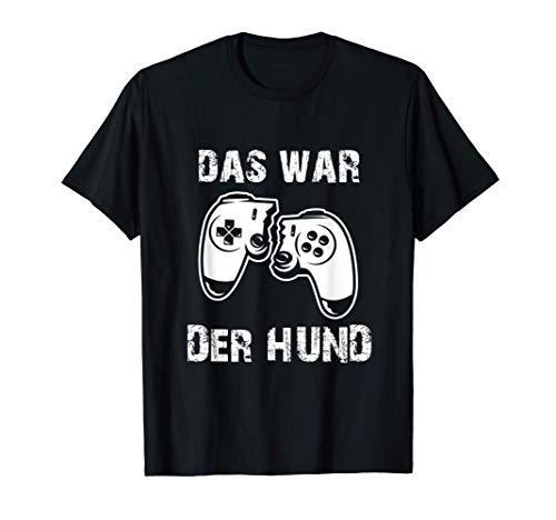 Gaming Zerbrochener Kontroller Zocken Konsole T-Shirt