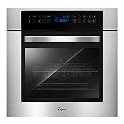 top rated Empava24 10 cooking functions with electric LED digital display Rotisserie integrated touch control … 2021