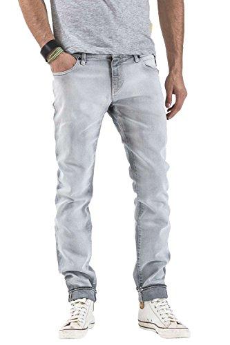 Meltin'Pot - Jeans MERET D1573-CH908 voor man, skinny stijl, skinny fit, lage taille Denim zwart
