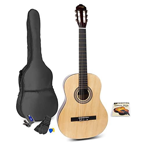 MAX SoloArt Conjunto Guitarra Clásica (Natural)