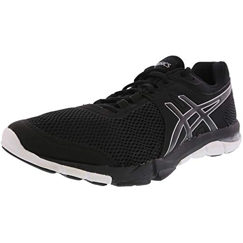 ASICS S705N Women's Gel-Craze TR 4 Shoe, Black/Silver/White - 8.5