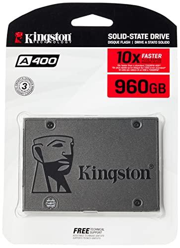 Kingston A400 SSD Unità a stato solido interne 2.5' SATA Rev 3.0, 960GB - SA400S37/960G
