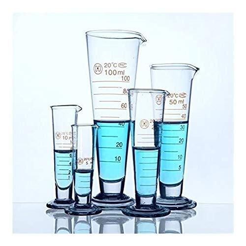 Borosilicate 3.3 Afgestudeerd Conische Glas Fles for Laboratory 5 ml 10 ml 20 ml 25 ml 50 ml 100 ml 250 ml 1000ml 2000ml