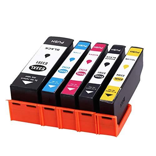 Teland - Cartuchos de tinta para Epson XP-530, XP-630, XP-635, XP-830, Xp-640, Xp-900, Xp-540 y Xp-645 (5 unidades)