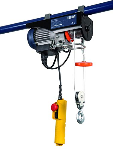 Polipasto de cable eléctrico FERM (500W – Max. 250Kg)