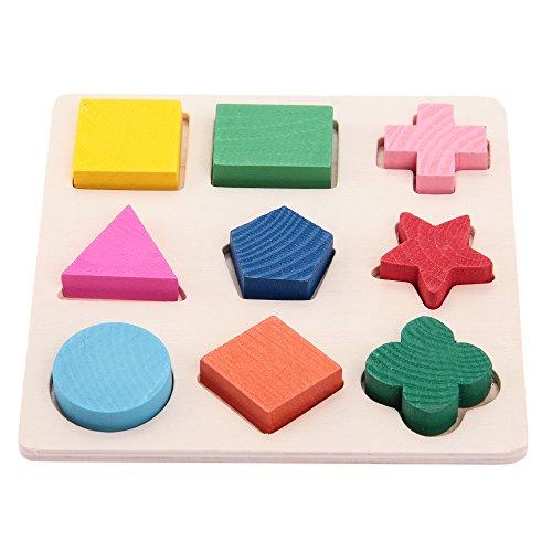 fitTek® Set Rompecabezas Puzzle Juguete Educativo para Bebés Niños Infantil