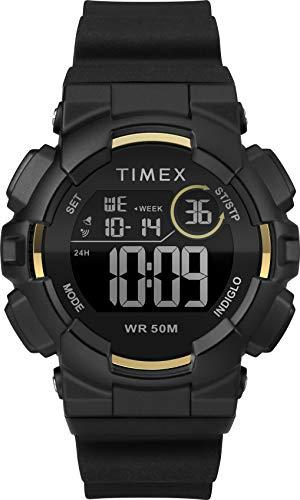 Timex Damen Digital Uhr mit Silikon Armband TW5M23600