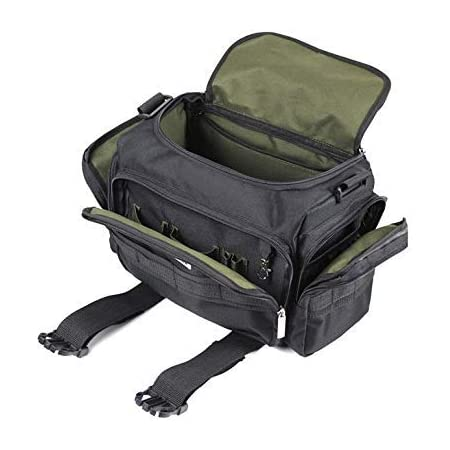Pahal Nylon Electrician and Technician 17 inch Water Proof Tool Bag (Black, Large)