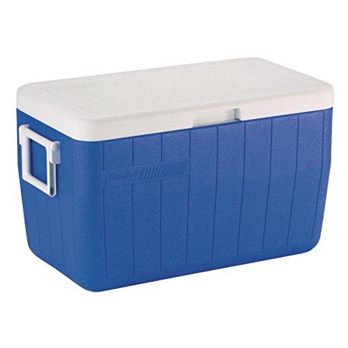 Product Image 3: Coleman Performance Cooler, 48-Quart – Blue