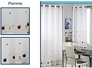 Export Trading Eden Pomme - Cortina, 100x150 cm, Multicolor