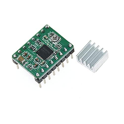 OWENRYIN Parti per stampante 3D A4988 DRV8825 Driver motore passo-passo con dissipatore di calore per SKR V1.3 1.4 GTR V1.0 RAMPS 1.4 1.6 MKS GEN V1.4 a4988 Scheda driver motore passo-passo