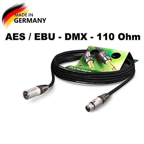 Sommer Cable AES/EBU – DMX512 110 Ohms SC-Binary 234 MKII XLR macho...