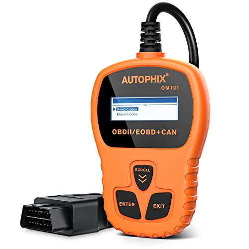 Autophix OM121 OBD2 reader,Car Check Engine Light Fault Error Code Scanner, obd 2 odb2 obdii CAN...