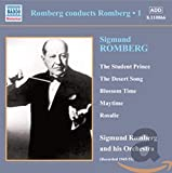 album cover: Romberg Conducts Romberg: Sigmund Romberg and His Orchestra