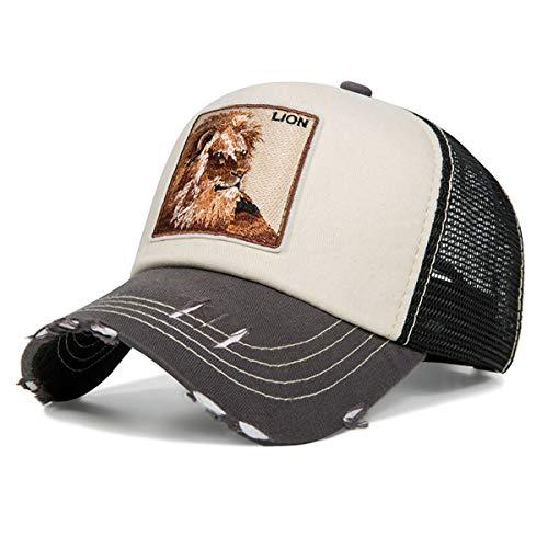 Evrfelan de moda de malla gorra de béisbol Unisex animales tapas las mujeres y los hombres del casquillo del Snapback sombrero de papá verano hueso ajustable gorras