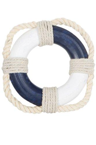 mare-me Rettungsring Deko, mini blau weiß
