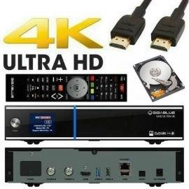 GigaBlue UHD UE 4K 2x FBC DVB-S2 Tuner ULTRA HD E2 Linux Receiver inkl. 1 TB Festplatte