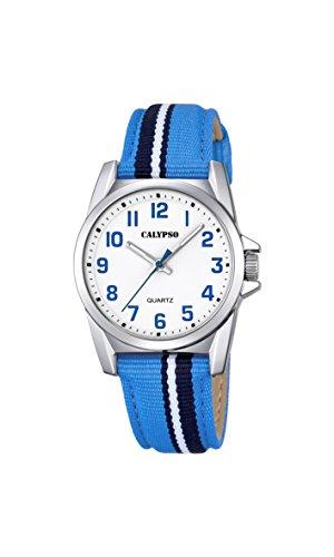 Calypso Reloj Análogo clásico para Unisex de Cuarzo con Correa en Nailon K5707/2