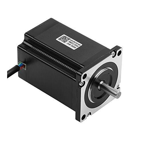 RTELLIGENT Nema 24 Open Loop Motor paso a paso 3NM Bipolar 60 x 60 x 86 mm híbrido 5 A 2 fases pespunte para máquina CNC