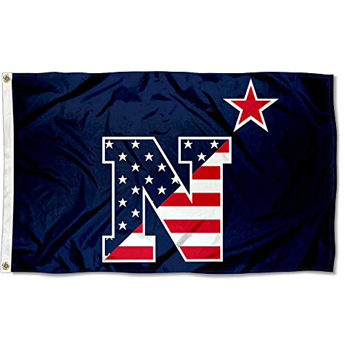 College Flags & Banners Co. US Navy Midshipmen Patriotic Flag