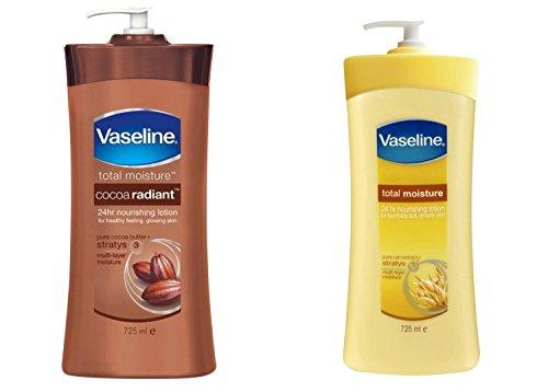 Vaseline Total Moisture Dry Skin 24hr Nourishing Lotion
