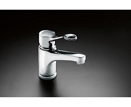 Gustavsberg RT622 Wasserhahn, Einhebel, Waschtisch-Armatur, barrierefrei für Senioren, Behinderte, langer Dreharm, ringförmirger Eingriff