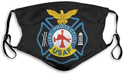 auguce US Air Brandschutz Bandanas für Männer Halsmanschette