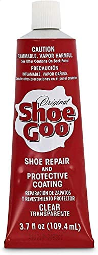Shoe Goo Repair Adhesive for Fixing Worn Shoes or Boots, Clear, 3.7 Oz