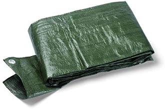 SCHULLER dekzeil met oogjes kleur 90 gram, 3 x 4 m, groen, 46505